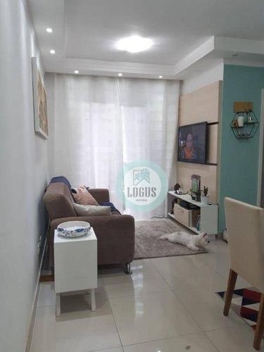 Imagem 1 de 10 de Apartamento Com 2 Dormitórios À Venda, 50 M² Por R$ 230.000,00 - Vila Gonçalves - São Bernardo Do Campo/sp - Ap1759