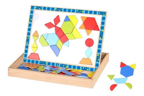 Puzzle Magnético Formas De Tooky Toy (tkf027)