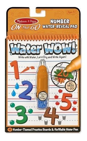 Libro De Coloreo Con Lápiz De Agua Reutilizable - Water Wow