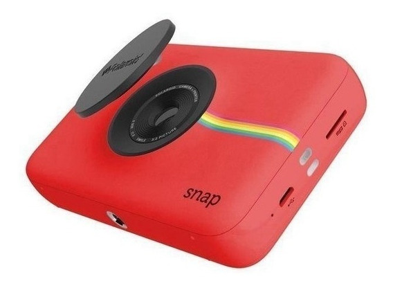 Câmera Polaroid Snap Instant Print Digital Polsp01r Vermelho