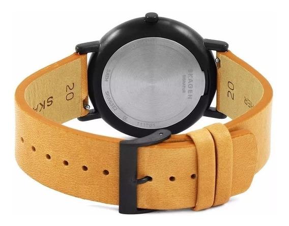 Relógio Skagen Masculino Marrom - Nota Fiscal- Na Caixa