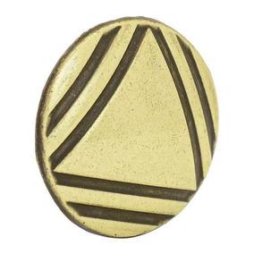 Botón O Perilla Clásico Tipo 01 Latón Antiguo Lock