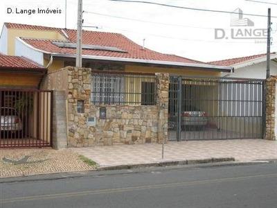 Casa Com 4 Dormitórios À Venda, 250 M² Por R$ 530.000 - Jardim Nova Europa - Campinas/sp - Ca2044