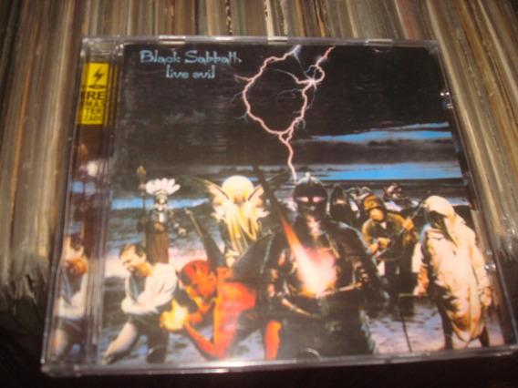 Cd Black Sabbath Live Evil - Remasterizado - Ótimo Estado