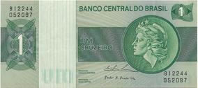 Cédulas Um Cruzeiro Sequenciais