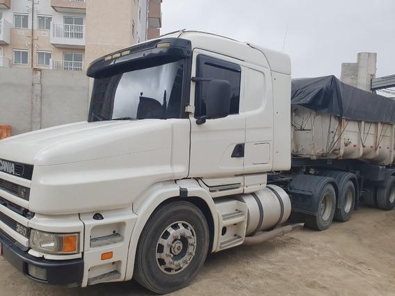 Scania 124 420 Bicudo Scania Trucado