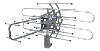 Antena Hdtv Amplificada Giratoria 360 Control Remoto Truper