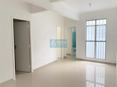 Apartamento Frente Para A Praia, 3 Dormitórios, 1 Vaga, Reformado - Canto Do Forte - Praia Grande - R3f603a - R3f603a - 33131125
