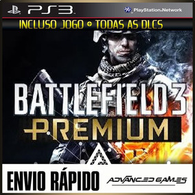 Battlefield 3 Premium Bf3 - Jogo + Todas As Dlcs - Ps3 Psn