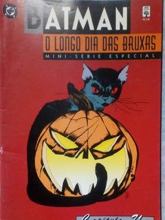 Mini-série Completa 8 Hqs - Batman - O Longo Dia Das Bruxas