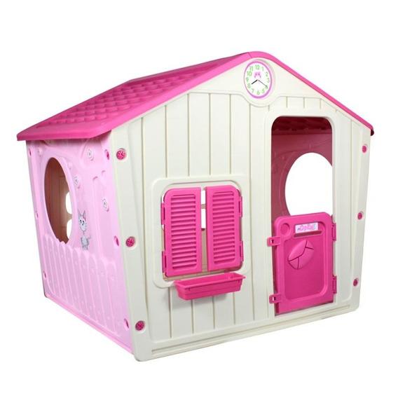 Casinha Infantil De Brinquedo Pink Belfix
