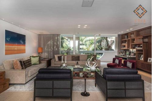 Apartamento Com 3 Dormitórios À Venda, 341 M² Por R$ 5.900.000,00 - Jardins - São Paulo/sp - Ap47043