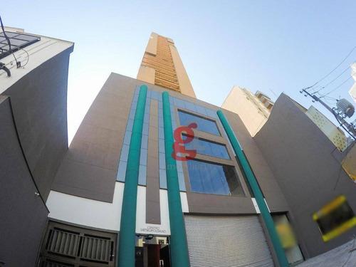 Sala Para Alugar, 102 M² Por R$ 750,00/mês - Edifício Centro Metropolitano - Londrina/pr - Sa0025