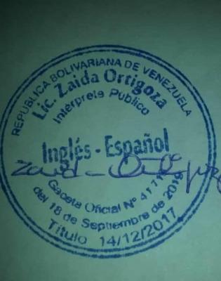Traducción Certificada De Todo Tipo De Documentos (ing-esp)