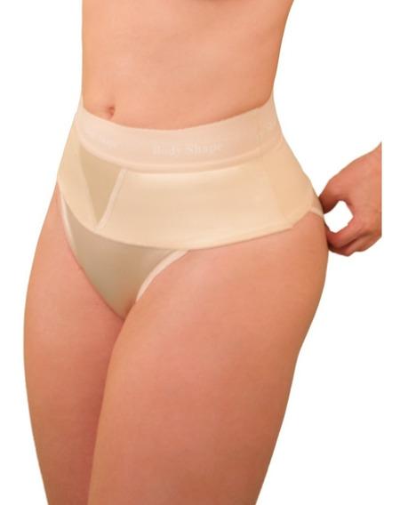 Panty Con Banda De Látex Panty Lyne Body Shape Vientre Plano