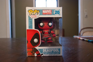 Figura De Vinilo Funko Pop! Deadpool - Marvel