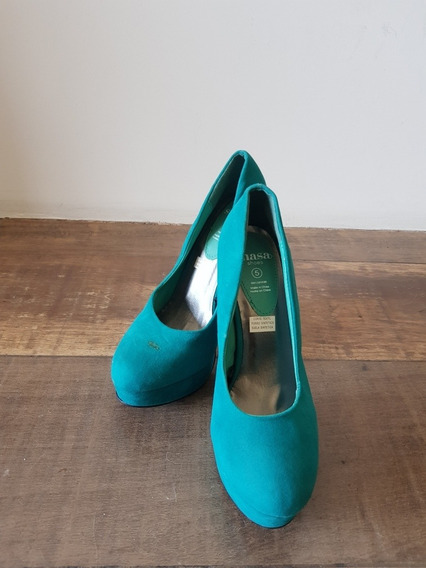 Zapatos Stilettos Taco Alto