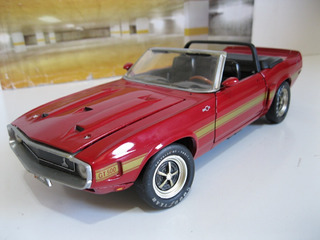 Shelby Gt-500 Mustang 1969 - Ertl 1/18 - R A R O