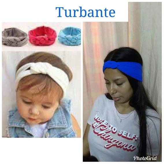 Turbante Trenzado Y Diademas De Lentejuela Tonos A Elegir
