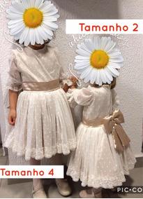Vestido De Daminha Ou Festa Infantil