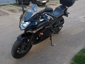 Yamaha Xj6-f 600 Preta 2012 - R$ 21.500,00