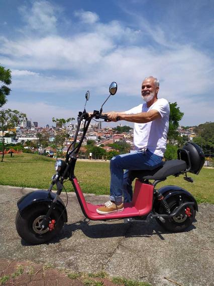 Moto Scooter Elétrica 1500w Bateria Lítio 60v 0km