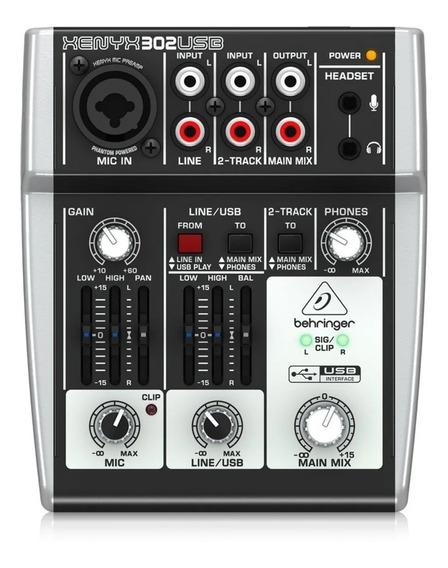 Mesa Behringer 302 Mic Preamp And Usb/audio Interface Premiu