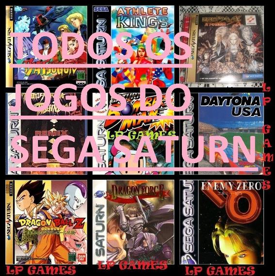 Todos Os Jogos Do Sega Saturn