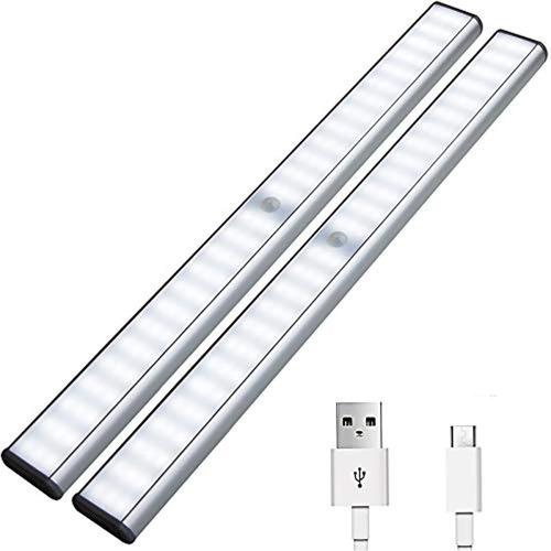 Luces Para Debajo Del Gabinete 78 Luces Led Con Sensor