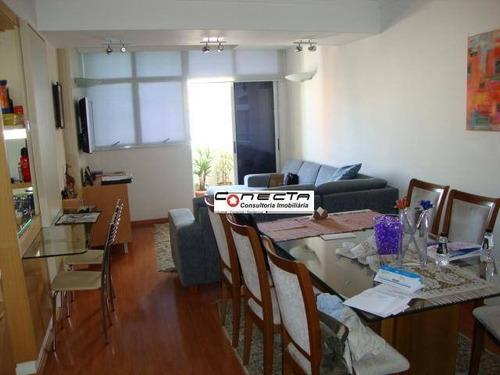 Imagem 1 de 5 de Apartamento Residencial Para Locação, Cambuí, Campinas - Ap0053. - Ap0053