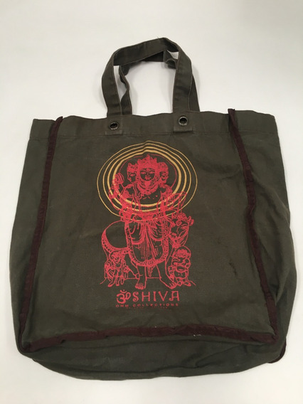 Bolso Totebag De Tela Shiva Ohm Collections Hindú