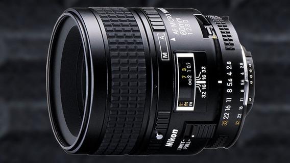 Lente Nikon 60 Mm Af Micro Nikkor 1:2,8 D (macro) M/a
