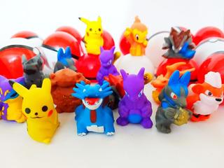 Pokemon Na Pokebola 50 Unid Kit Festa Lembrancinha E Brinde