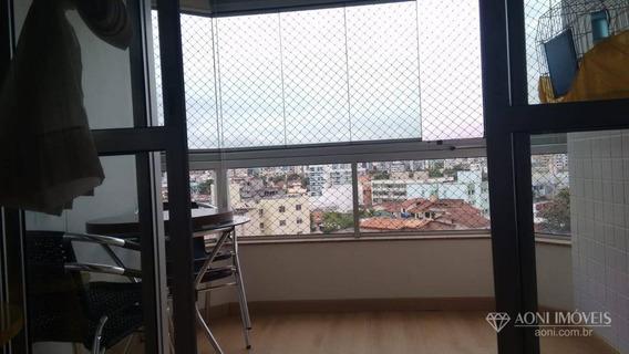 Apartamento Com 3 Dormitórios À Venda, 87 M² Por R$ 420.000,00 - Jardim Camburi - Vitória/es - Ap0728
