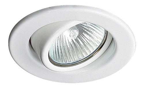 Imagem 1 de 3 de Spot De Embutir Redondo Direcionável Alumínio Gu10  Top