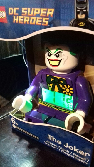 Reloj Despertador Lego The Joker 1a Edicion