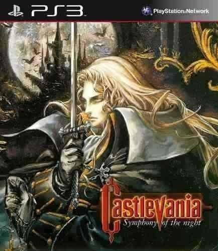 Castlevania Symphony Of The Night - Jogos Ps3 Psn