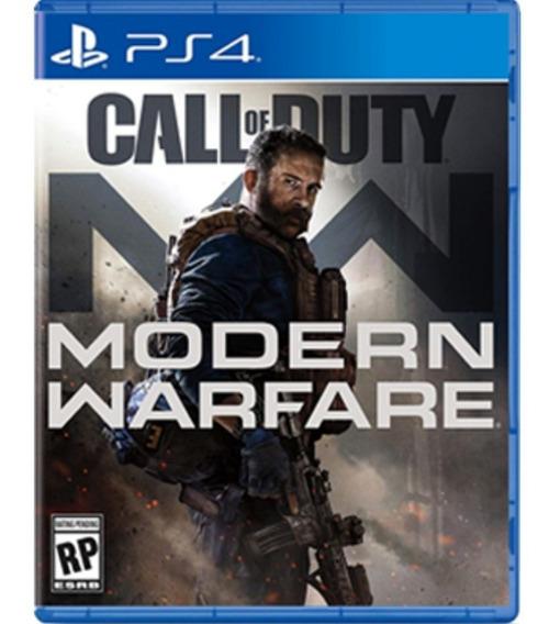 Call Of Duty Modern Warfare Playstation 4 Mídia Digital