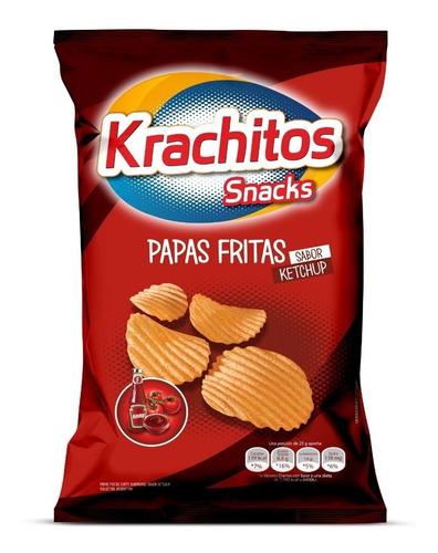 Papas Fritas Krachitos 65g Sabor Ketchup