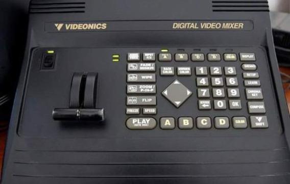 Kit De Transmissão Ao Vivo 3 Filmadoras Sony E Mesa De Corte