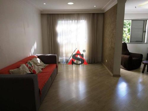 Apartamento Com 2 Dormitórios Para Alugar, 112 M² Por R$ 3.500,00/mês - Vila Gumercindo - São Paulo/sp - Ap40365