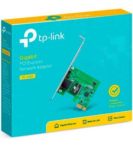Placa De Red Pci Express Tp-link Tg-3468 Gigabit