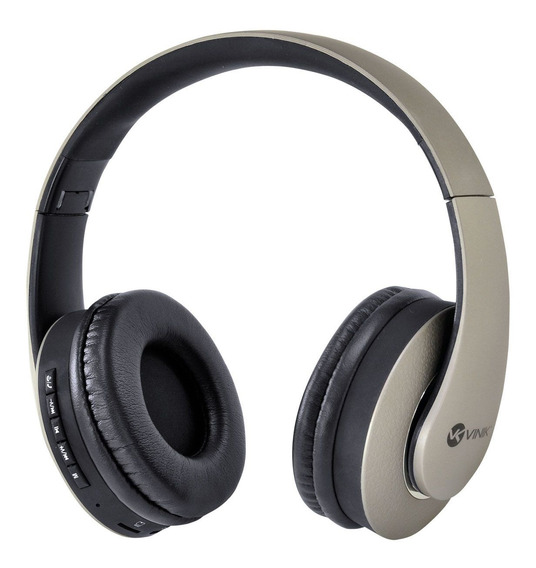 Headset Vinik Fone De Ouvido P2 Bluetooth Fm Micro Sd