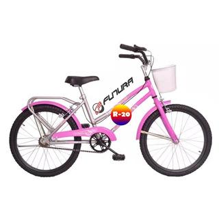 Bicicleta Rodado 20 Paseo Nena Futura 5214