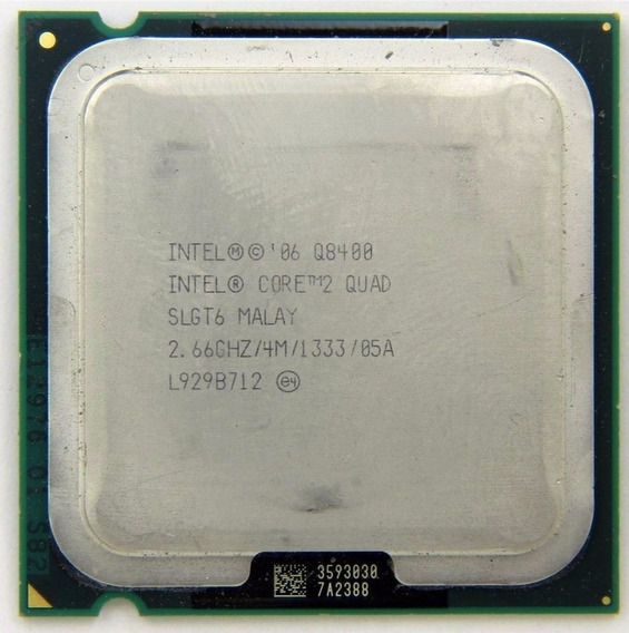 Processador Intel Soquete 775 Core 2 Quad Q8400 2.66 Ghz Oem