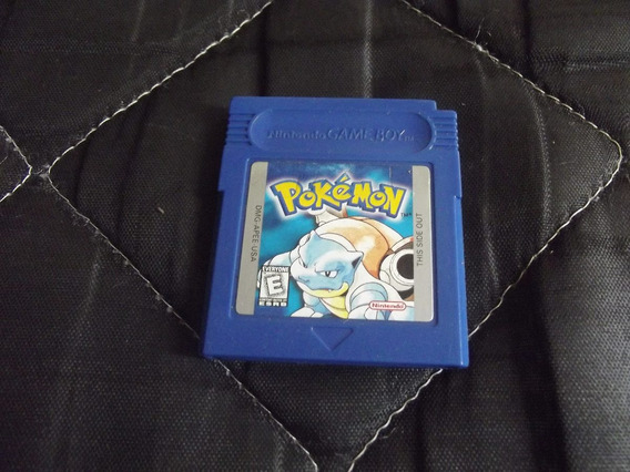 Pokémon Blue Original Para Game Boy, Color,adv,sp