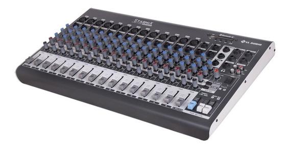 Mesa De Som Starmix Xms1602d 16 Canais Ll Audio