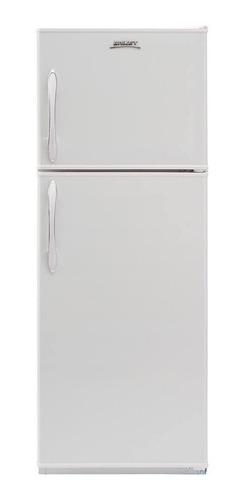 Heladera auto defrost Briket BK2F 1310 R3  blanca con freezer 257L 220V