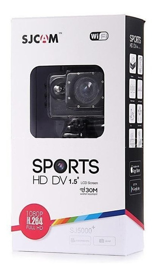 Câmera Sports Sjcam 5000 Original Wifi+p.self+flutuador