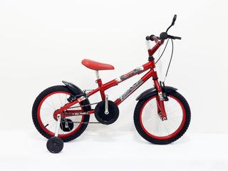 Bicicleta Aro 16 Infantil Bike Mtb Com Adesivo E Um Brinde